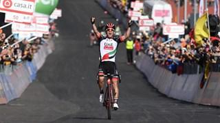 Jan Polanc won op de Etna