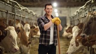 Een veehouder