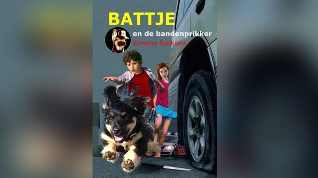 Boek met Battje in de hoofdrol - fotograaf: Facebook / Politie Almelo