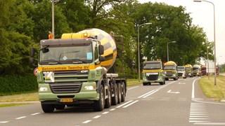 Truckrun door Twente