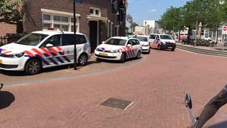 Veel politie aanwezig
