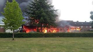 De brand in Goor afgelopen vrijdag