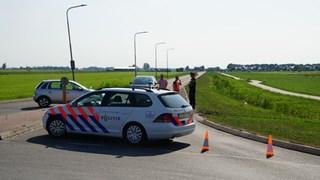 Asfalt laat los in Genemuiden
