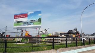 Fout bij aanleg spoorlijn Zwolle-Kampen: station Stadshagen nog niet open en miljoenenstrop