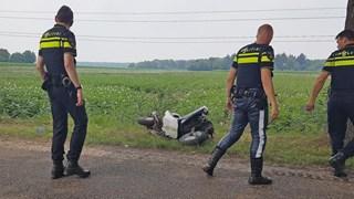 Scooter flink beschadigd