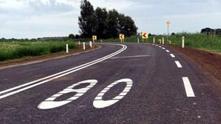 De weg is vanaf morgenmiddag weer toegankelijk voor verkeer