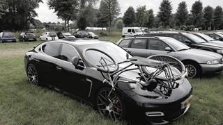 De Porsche van Jeroen
