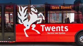Bus van Syntus in Almelo