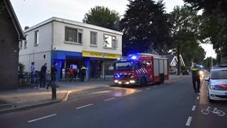 Brand in woning boven winkel Vriezenveen