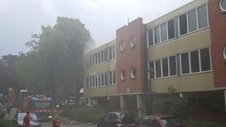 Brand in appartementencomplex Enschede