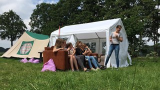 Toezicht op kamperende jongeren in gemeente Tubbergen