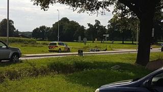 Ongeval op N741 in Delden