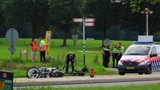 Ernstige aanrijding op de N741 bij Delden