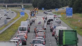 Verkeer op A1 moet er bij afrit Lochem af