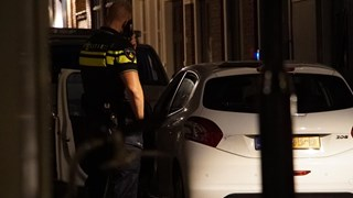 Auto waar de vier verdachten inzaten