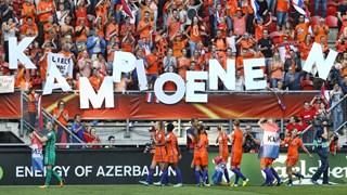 Oranje Leeuwinnen zijn Europees kampioen