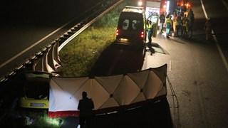 Automobilist overleden na botsing met vrachtwagen