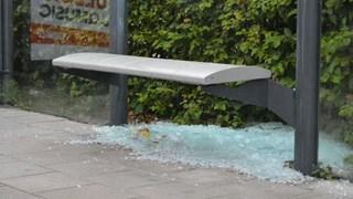 Meerdere bushokjes vernield in Deventer