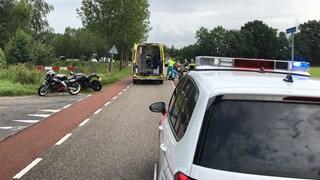 Motorrijdster gewond in Beuningen