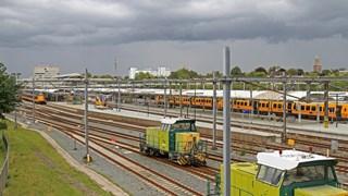 Geen hinder voor treinverkeer op station Zwolle
