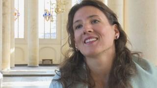 Anne-Mareike Schol-Wetter houdt bij het Nederlands Bijbelgenootschap de bijbel populair