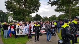 BwO Lokaal demonstreerde niet gisteren door mars van Pegida