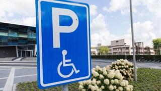 Parkeerplaats gehandicapten