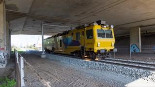 Spoor / trein / spoorlijn (stock)