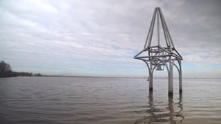 Monument ter herinnering aan het verdronken dorp Beulaeke