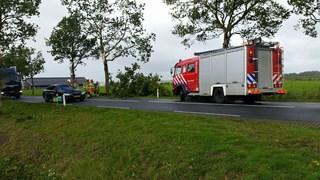 Rijbaan N757 tussen Dalfsen en Zwolle gestremd