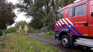 Woldlakeweg in Scheerwolde versperd
