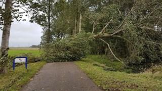 Havezatheweg in Hasselt versperd