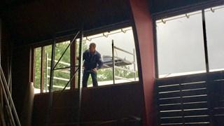 Renovatie voormalige tennishal Military Boekelo