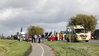 Ongeval in IJsselmuiden