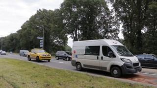 Ongeval op N346 in Goor
