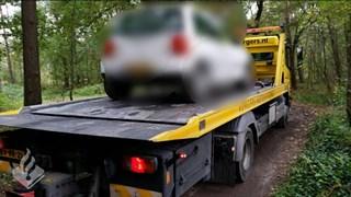 Het voertuig van de bestuurder werd in beslag genomen