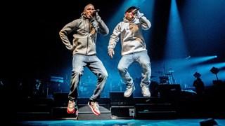 Rico & Sticks tijdens het concert in de Ziggo Dome