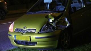 Auto liep forse schade op