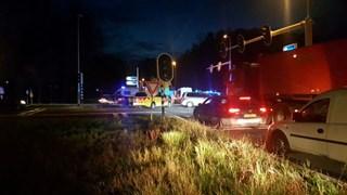 Ongeval op N347 in Enter