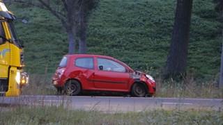 Auto betrokken bij aanrijding met motorrijder
