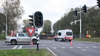 Verkeersonderzoek afgeschermd