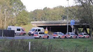 Veel politie aanwezig bij onderzoek naar toedracht ongveal