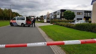 De politie trof bij een inval donderdagmiddag geen actief drugslab in het pand aan de Marssteden