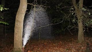 Breuk in waterleiding Nijverdal