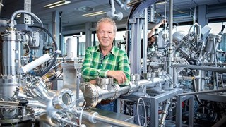 Nanotechnoloog Dave Blank van Universiteit Twente