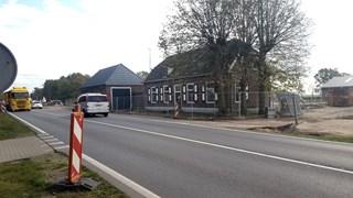 Het huis langs de N35 blijft tot half april staan