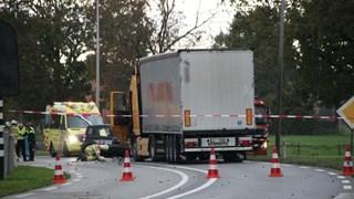 Twee gewonden bij ongeluk op N35 bij Mariënheem