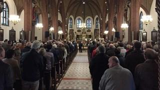 Eerste Sint-Hubertusviering in Geesteren