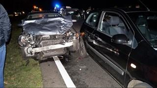 Gewonden bij ongeluk op de N377