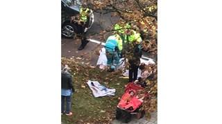Beide slachtoffers zijn naar het ziekenhuis afgevoerd